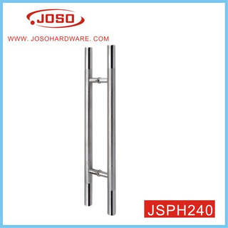 Round Tube Furniture Pull Handle for Exterior Door