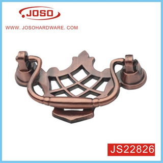 Popular Flower Type Furniture Handle for Door