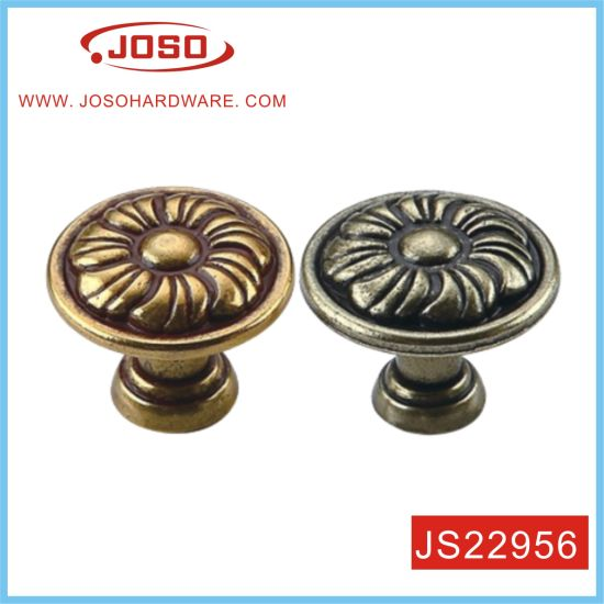 Vintage Bronze Kitchen Door Knob in House