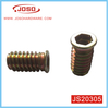 Hot Selling High Quality Metal Wardrobe Insert Nut