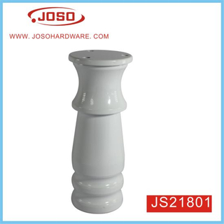 White Aluminum Adjustable Couch Leg for Cabinet Base