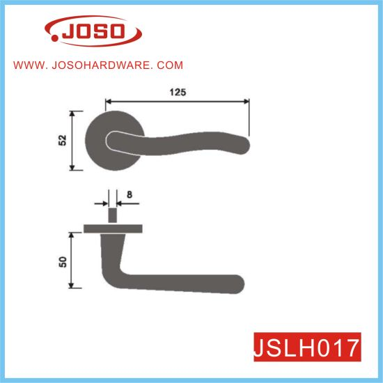 Popular Furniture Hardware of Lever Handle for Hall Door
