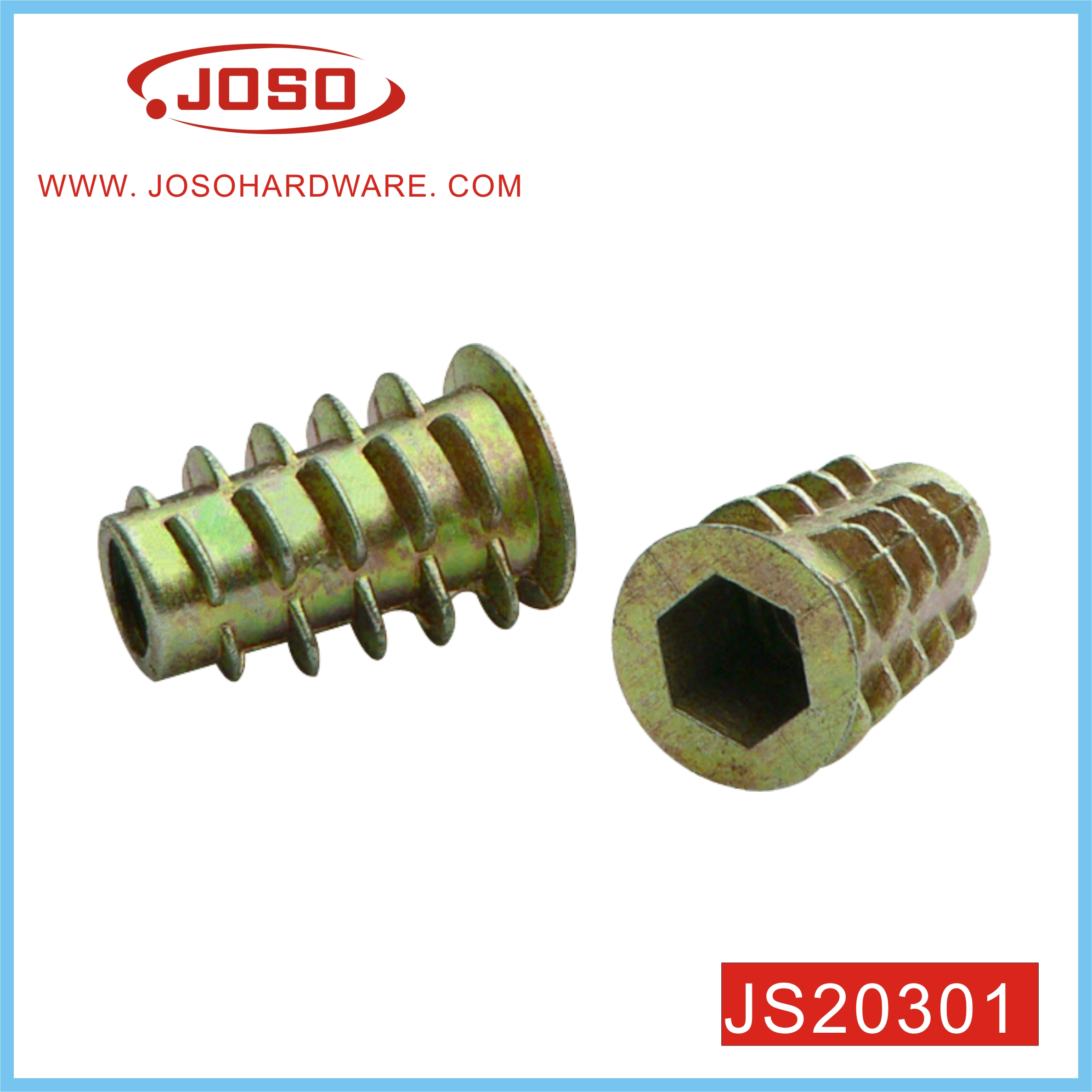 OEM Factory Made Zinc Plated Furniture Nut