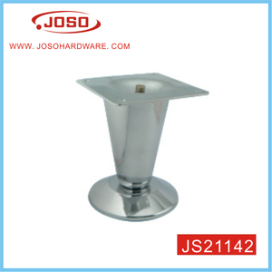 Cone Shape Square Flange Furniture Hardware For Sofa