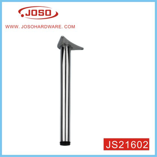 Hot Selling Chrome Plated Round Metal Furniture Table Leg For Dinning Room