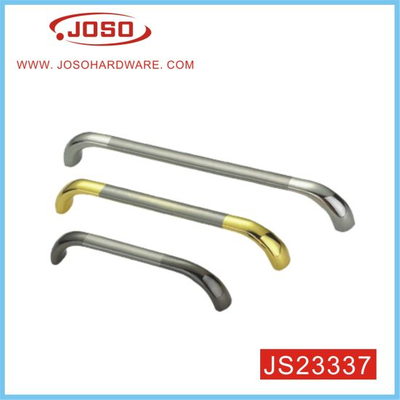 Brushed and Chromed Double Colour Bow Style Furniture Handle for Kitchen Door