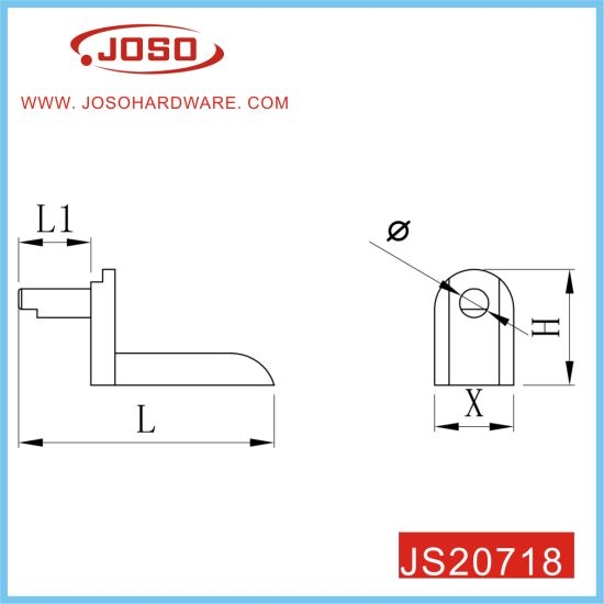 High Quality Shelf Support Stud Pegs for Wardrobe