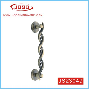 Corkscrew Spin Simplicity Noble Elegant Zinc Alloy Door Handle