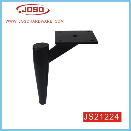 Popular Gun Shape Metal Furniture Leg for Couch