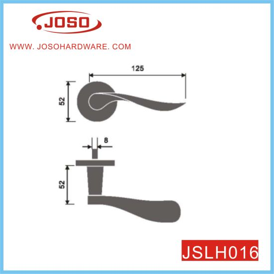 Modern Contempoary Slim Round Handle for Door
