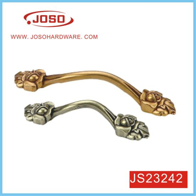 Gold or Antique Brass Cupboard Bow Style Drawer Handle for Cabinet